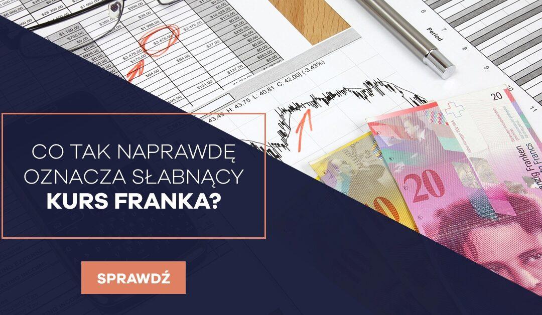 Kredyty Frankowe kurs franka